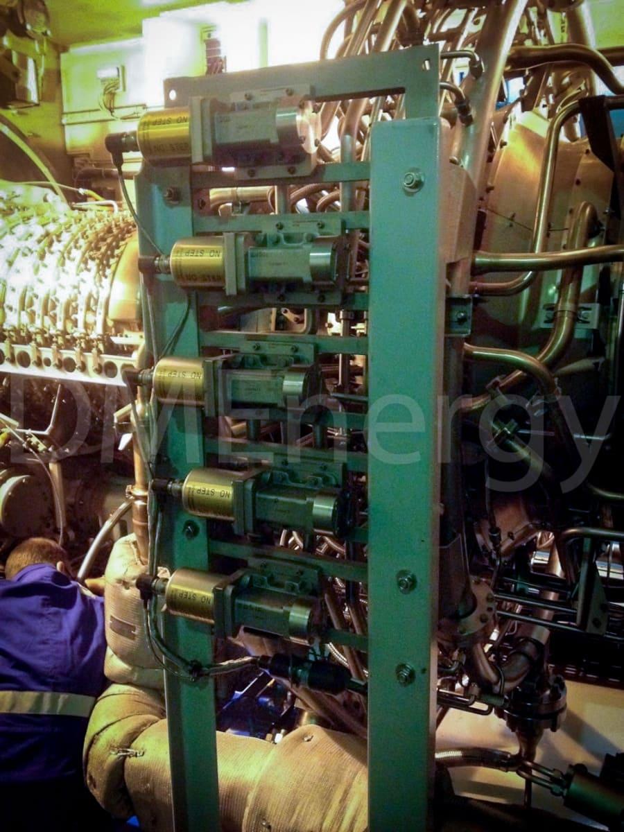 Установка турбины General Electric LM2500