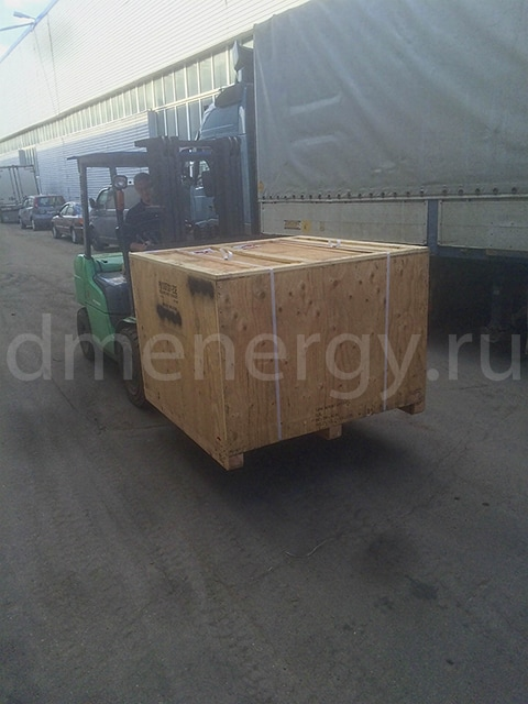 Spare parts shipment for Solar Centaur gas-turbine unit