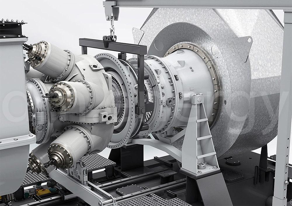 Газовая турбина Siemens SGT