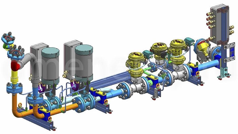 Топливная система SGT-300