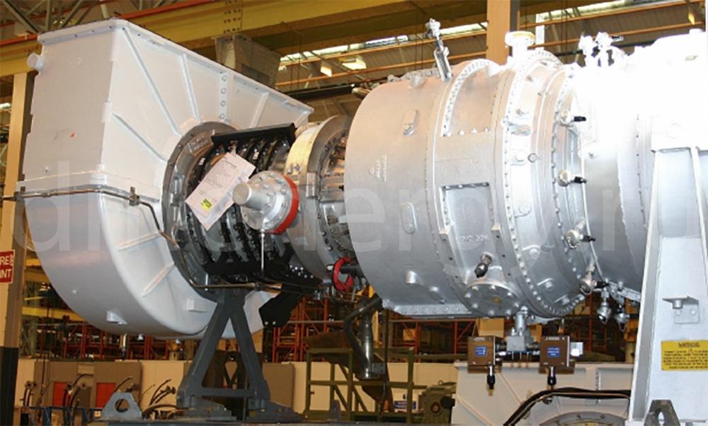 Турбина SGT-200, работающая на водородном топливе