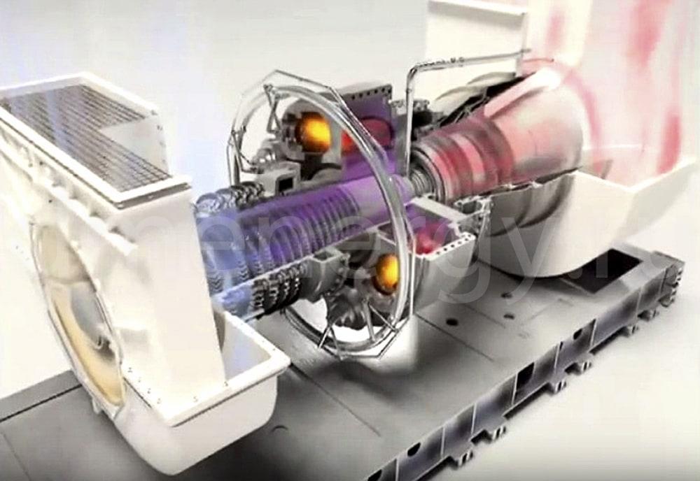 Принцип действия турбины Siemens SGT-200