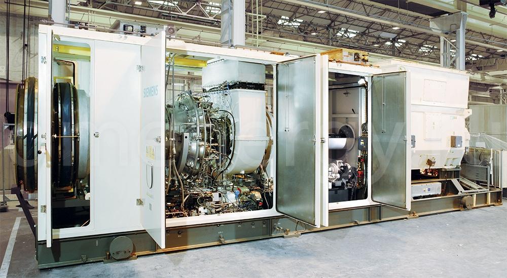 Газовая турбина Siemens SGT-300