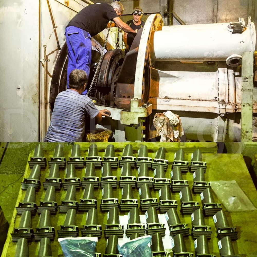 Средний ремонт Оршанская ТЭЦ (инспекция горячего тракта)