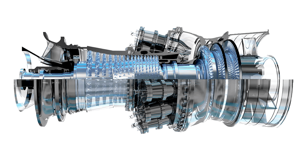 Турбина General Electric Frame 7E.03