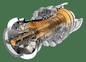 Турбина General Electric Frame 9F.05