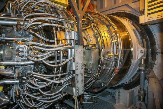 Турбина General Electric LMS 100