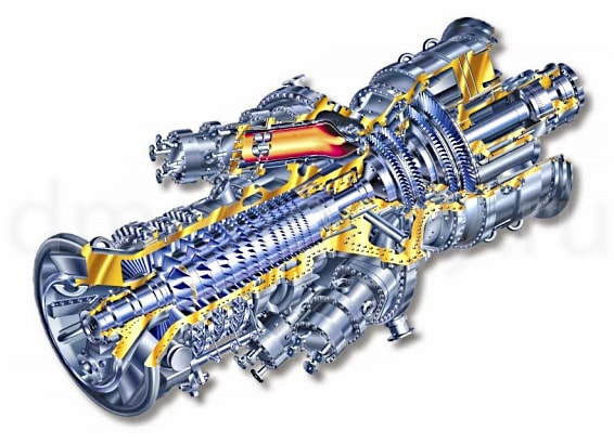 Турбина General Electric MS5002E