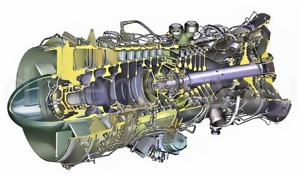 ГТУ Rolls-Royce RB-211
