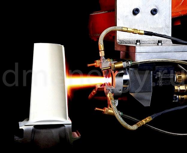 Термобарьерное покрытие компонентов ГТУ