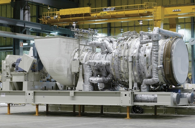 ГТУ Siemens SGT-400