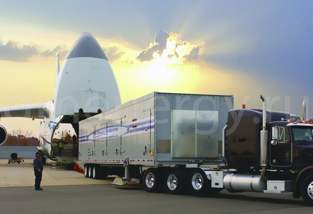 Газотурбинная установка Mobilepac FT8