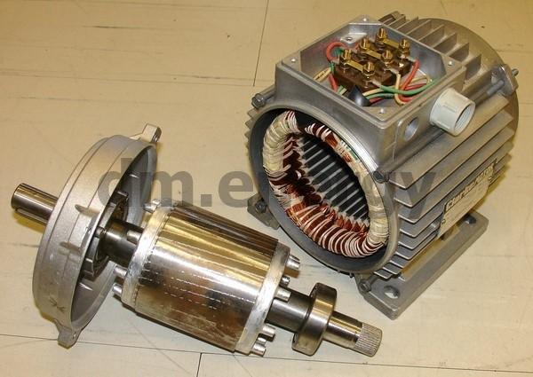 Ротор турбогенератора ГТУ