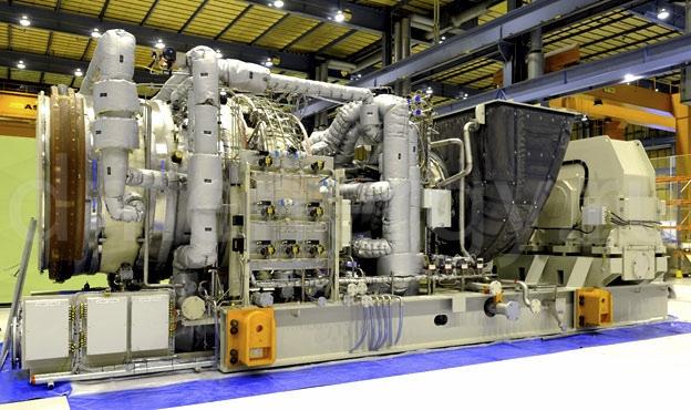ГТУ Siemens SGT-600
