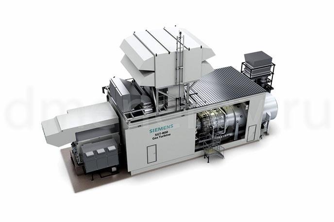 ГТУ Siemens SGT-800