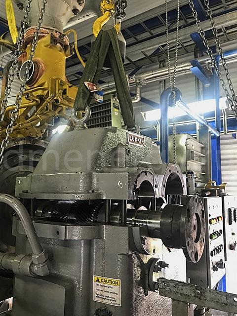 Инспекция и обслуживание редукторов Lufkin NM1004C