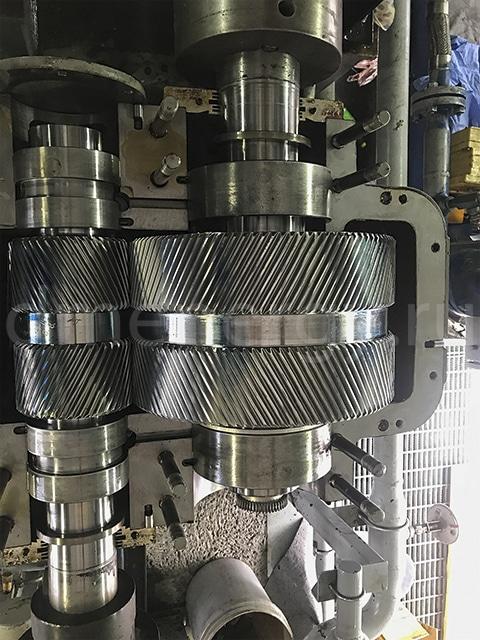 Техническое обслуживание редукторов Lufkin NM1004C