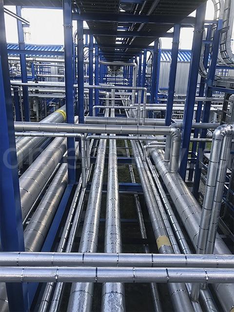 Установка подготовки попутного нефтяного газа