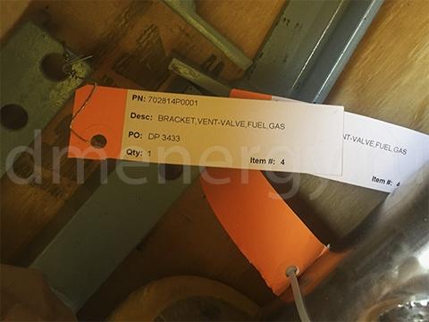 Кронштейн газового вентиляционного клапана 702814P0001