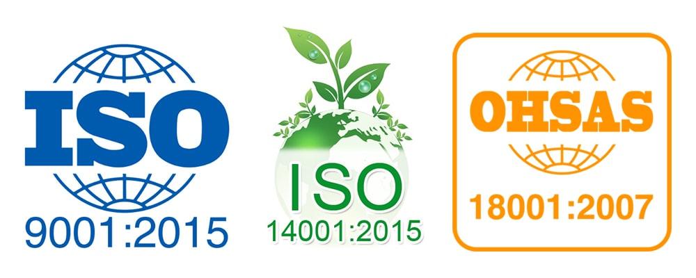 Сертификация согласно ISO и OHSAS