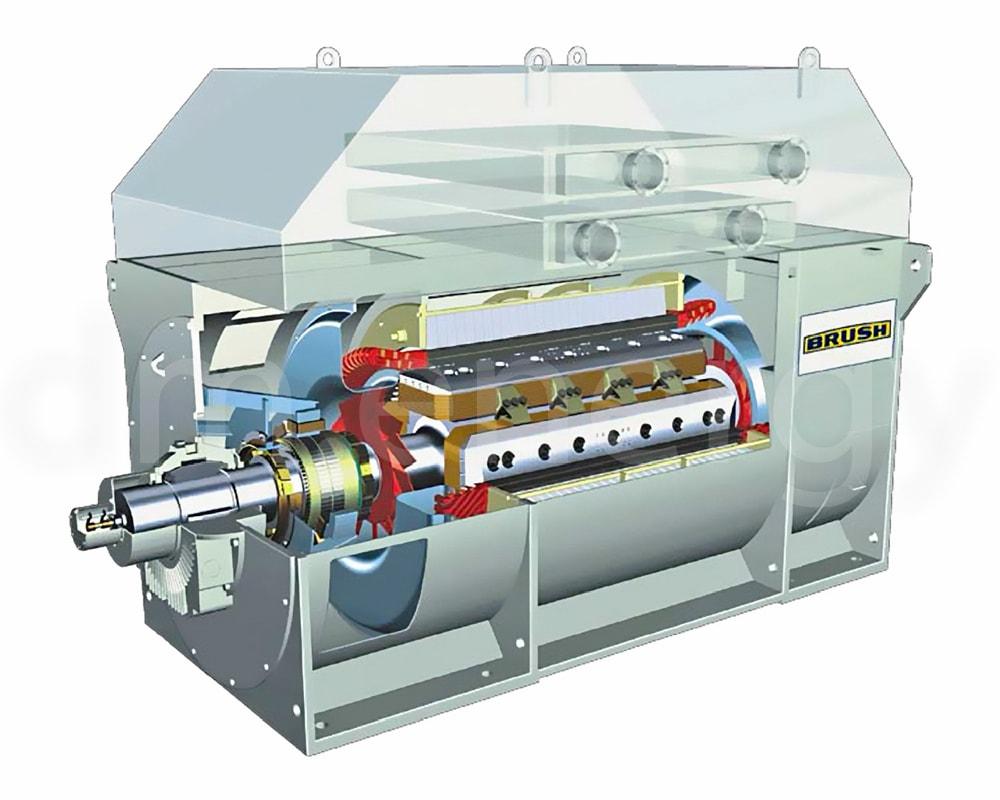 Заказать сервис и поставку четырехполюсных генераторов Brush DG от официального производителя.