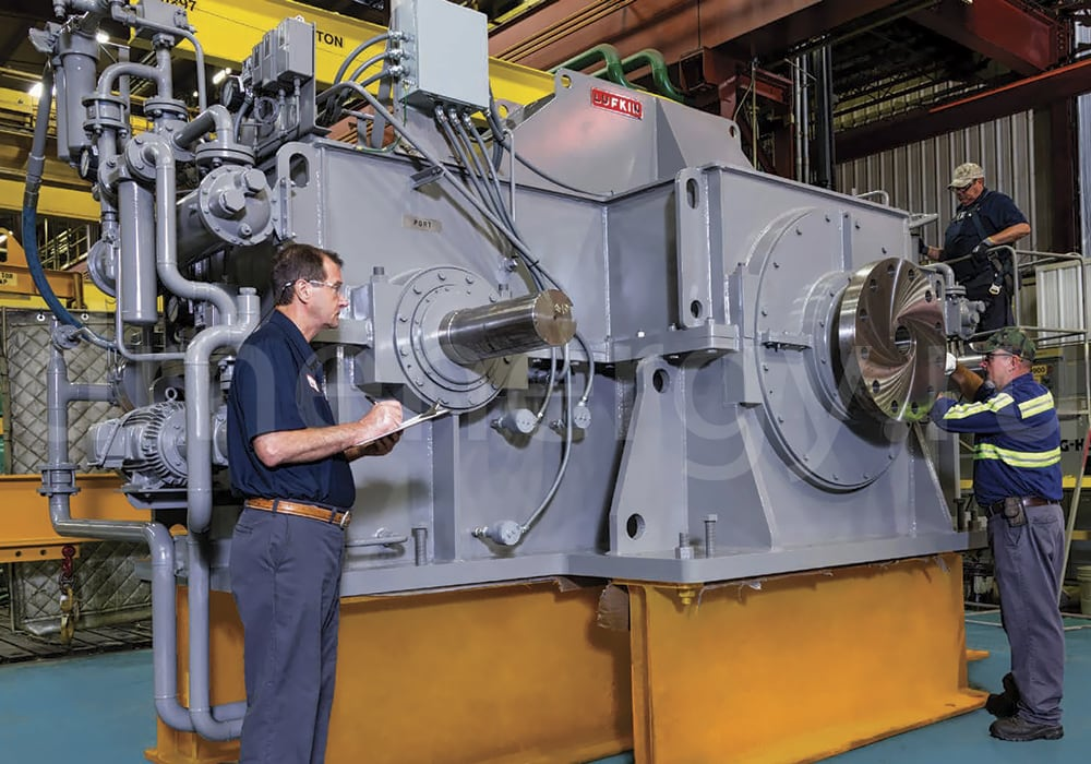 Обслуживание редукторов Lufkin Industries