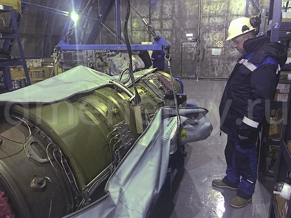 Turbine in a protective case