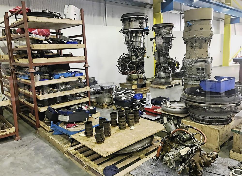 Overhaul of the Rolls Royce Avon gas generator