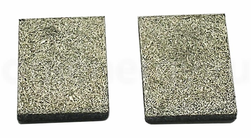 Образцы истираемого уплотнительного материала из волокон медного сплава