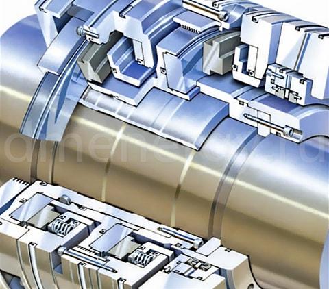 aura - Уплотнения газовых турбин