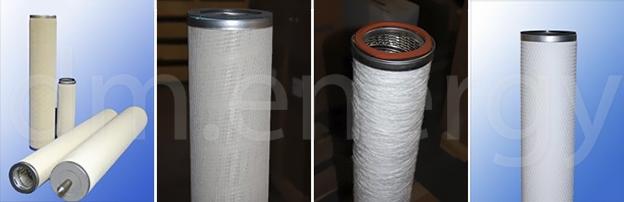 Пористые газовые фильтры Jonell Depth-LOK и Tri-DEP