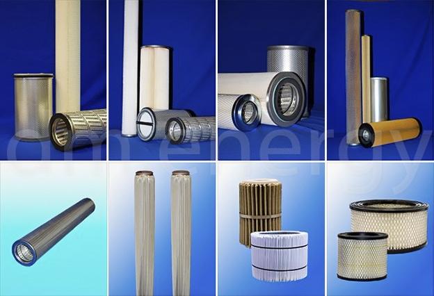 Заказать замену и поставку гофрированных фильтрующих элементов для очистки газа GasPleat от официального производителя.