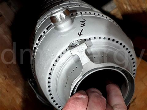 Восстановительный ремонт и производство деталей. Компоненты тракта горячих газов