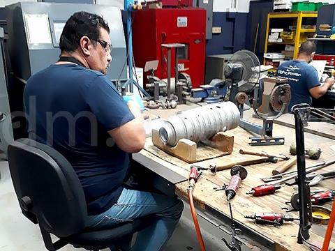 Восстановительный ремонт и производство деталей. Рабочий процесс