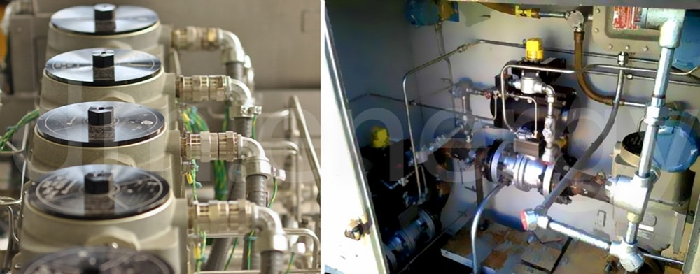 Применение клапанов дозировки топлива Woodward GS16