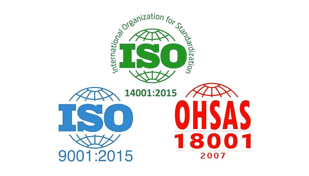 DMEnergy: сертификация ISO и OHSAS