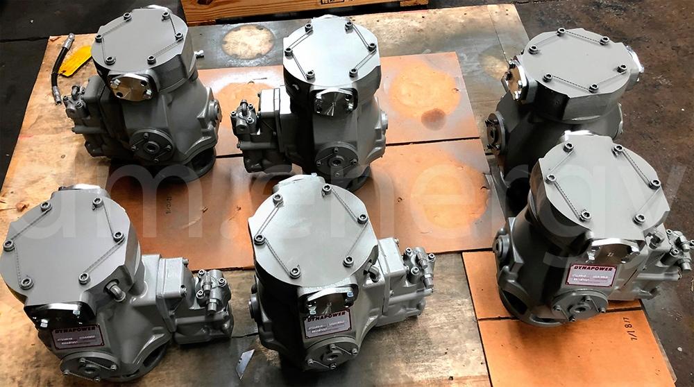 Гидростартеры Dynapower 53WK57017