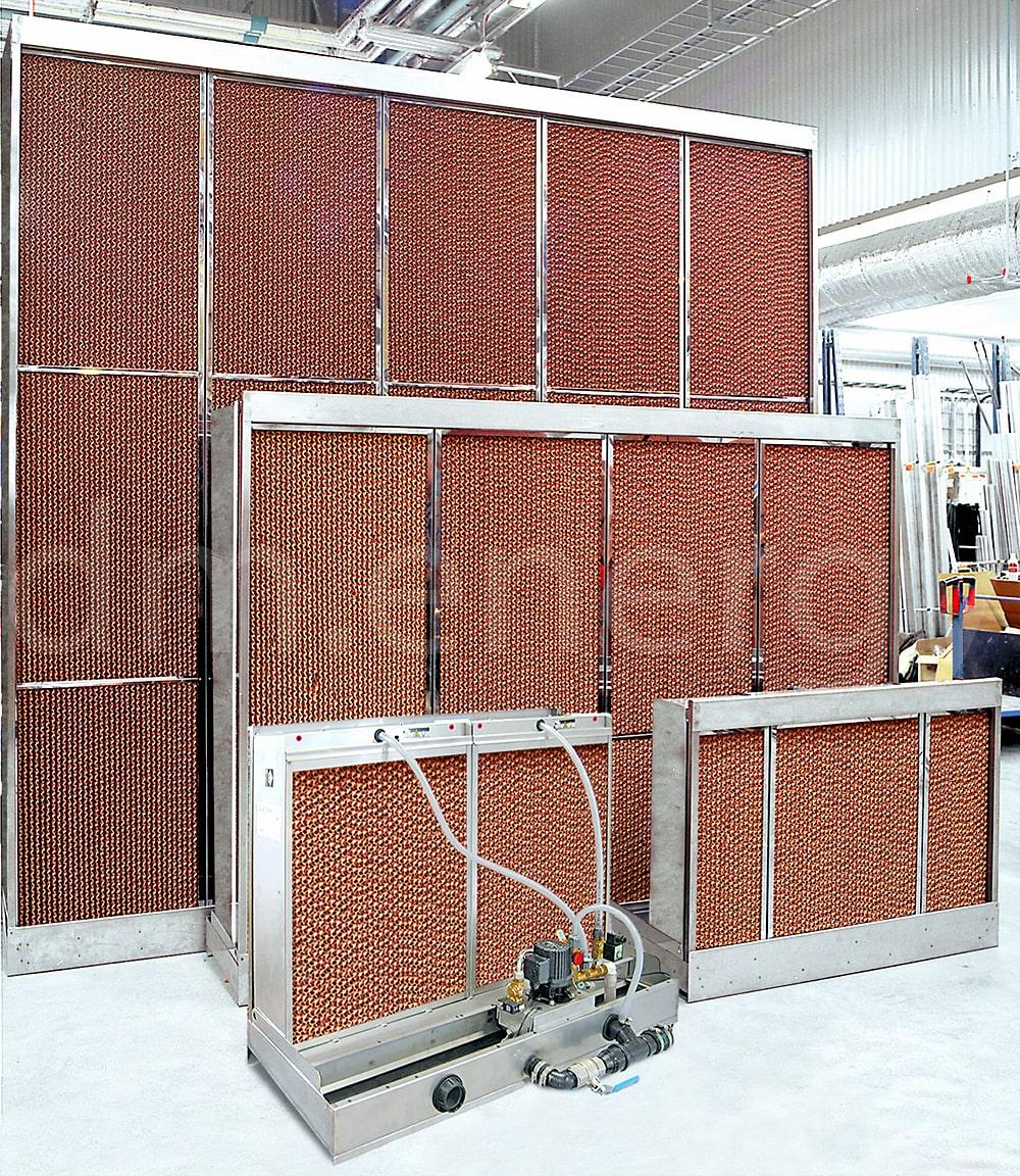 Заказать сервис и поставку испарительных охладителей Munters серии FA6 от официального производителя.