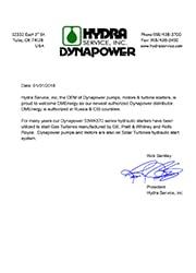 DMEnergy – дистрибьютор Dynapower