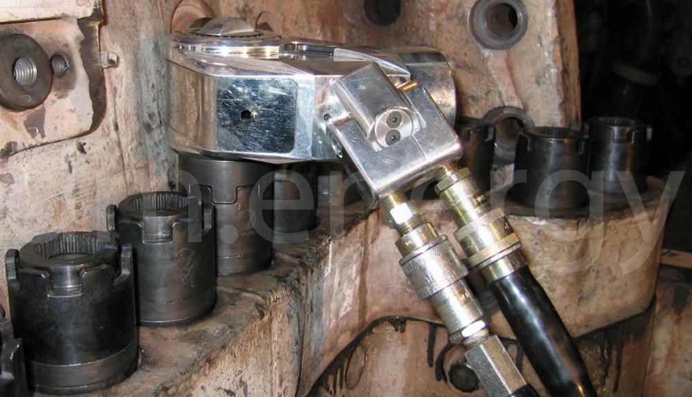 HYTORC Avanti используется на корпусе газовой турбины