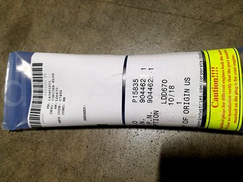Штепсель зажигания L43450P01
