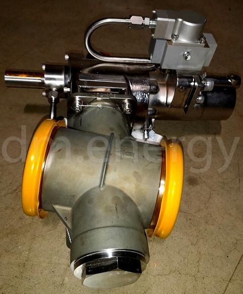 Перепускной клапан Meggitt C424045-4 с сервоприводом MOOG