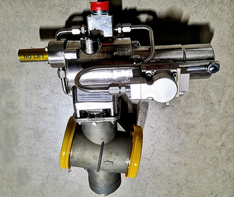 Клапан отбора воздуха Meggitt C424045-4 с сервоприводом