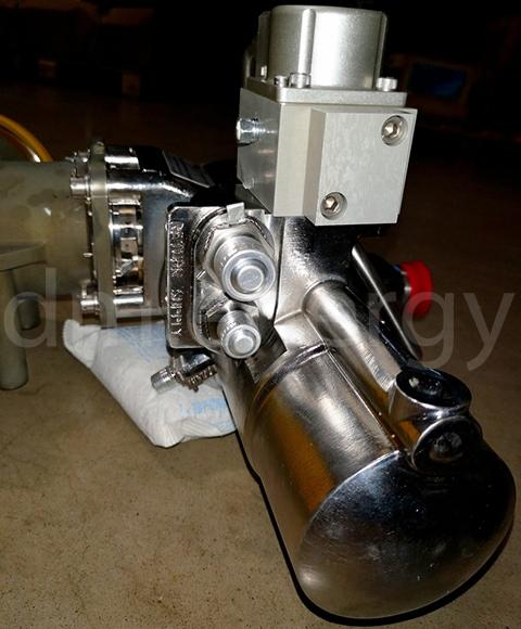 Поворотный воздушный клапан Meggitt C424045-4 с сервоприводом