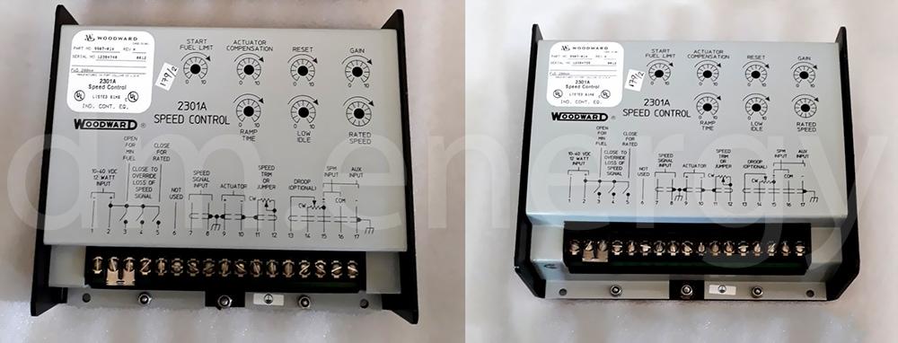 Управляющие устройства Woodward 2301A