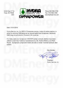 Hydra Service, Inc., Dynapower