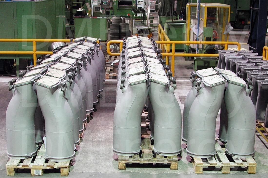 Переходные секции камеры сгорания для газотурбинной установки MS5002E