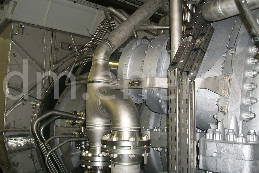 9 1 - Трубопроводы MS5002E