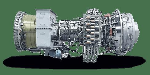Аэропроизводные газовые турбины