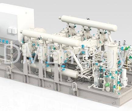 dogimnie kompressornie stansii - Дожимные компрессорные станции